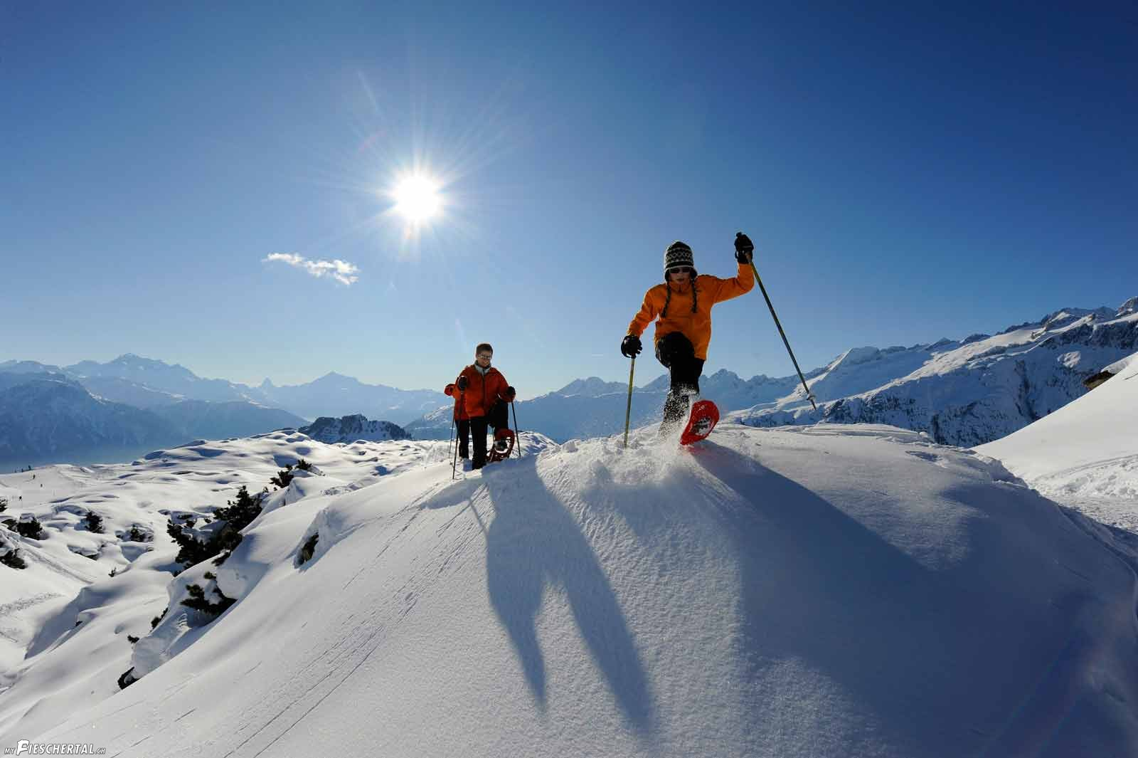 schneeschulaufen